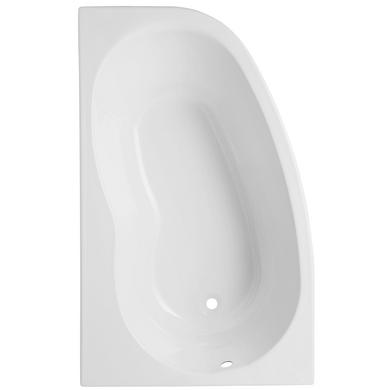 Baignoire Indiana Toplax blanc angle L.160 x l.100 version droite