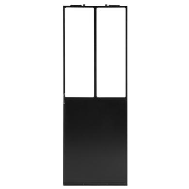 Pte coulissante VERRIERE ATELIER vitrage transparent p/syst intégré H.204xl.83 D