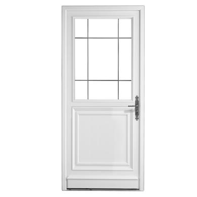 Porte d 39 entr e artigny pvc portes for Dimension porte d entree standard