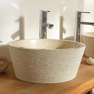 Vasque poser natura salle de bains - Vasque a poser lapeyre ...