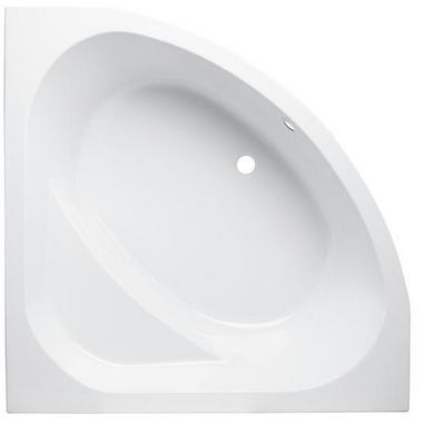 Baignoire Cyclade acryl blanc angle L.135 x l.135