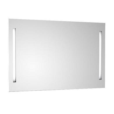Miroir tube bi directionnel (2 tubes et retro éclairage) classe 2 ip44 l.90