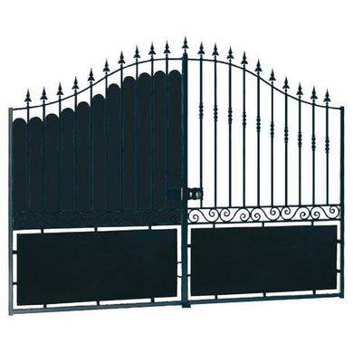 Tole festonnage pour portail