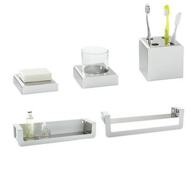 Accessoires de salle de bains bain lapeyre for Accessoires de douche a fixer