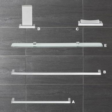Accessoires de salle de bains domino porte serviettes for Accessoire salle de bain porte serviette