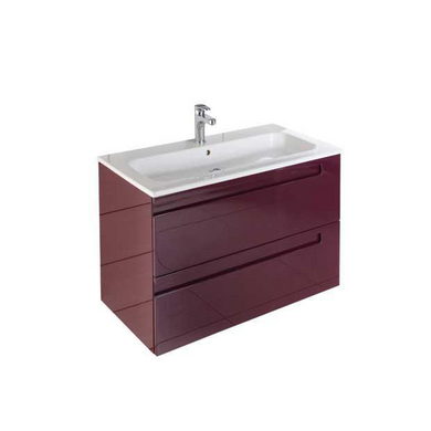Meubles sous vasque 2 portes infiny salle de bains for Meuble salle de bain faible profondeur
