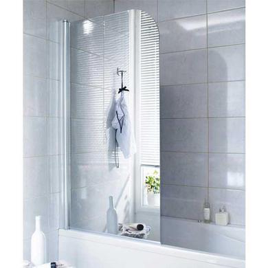 ecran de baignoire en verre miroir droite tokyo salle de. Black Bedroom Furniture Sets. Home Design Ideas
