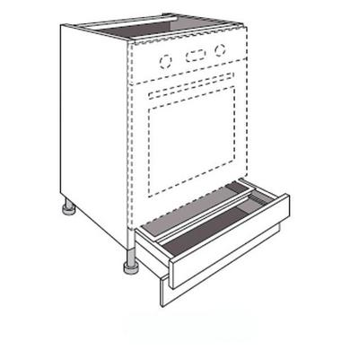 meuble de cuisine pour four avec 1 tiroir socle twist cuisine. Black Bedroom Furniture Sets. Home Design Ideas