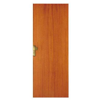 Porte seule recoupable bois exotique sipo portes Lapeyre porte interieure seule