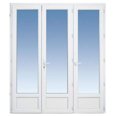 Porte fen tre classic pvc 3 vantaux cl fen tres for Fenetre 2 vantaux dimension standard