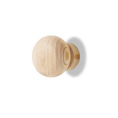 Bouton pin brut KRISTA pour portes placard