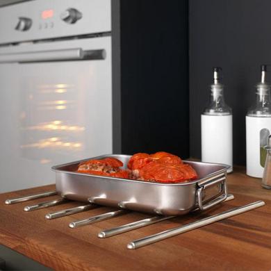 jeu de 6 baguettes repose plat cuisine. Black Bedroom Furniture Sets. Home Design Ideas