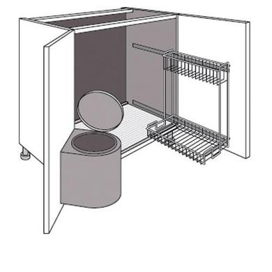Meuble de cuisine espace entretien lumio cuisine Espace dessous meuble cuisine