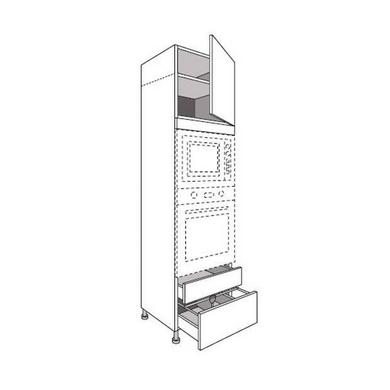 Colonne de cuisine pour four et niche grande for Hauteur colonne cuisine