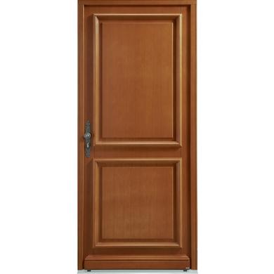 Porte d 39 entr e monfort bois exotique portes for Largeur porte d entree standard