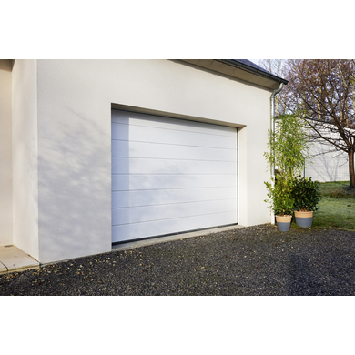 Porte de garage oregon sectionnelle en kit motoris e for Dimension portillon standard
