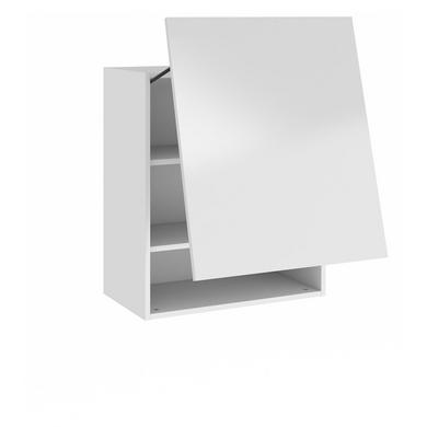 Meuble de cuisine haut 1 porte basculante 2 tablettes for Meuble haut une porte