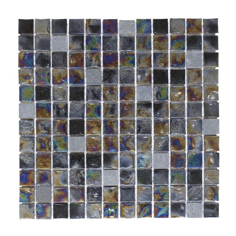 Carrelage mosa que vario 30 x 30 cm sols murs - Lapeyre carrelage mosaique ...