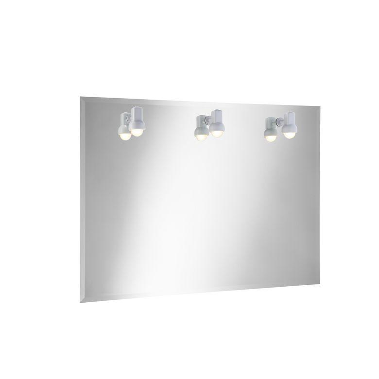 Miroir lumineux ibiza salle de bains - Lapeyre miroir lumineux ...