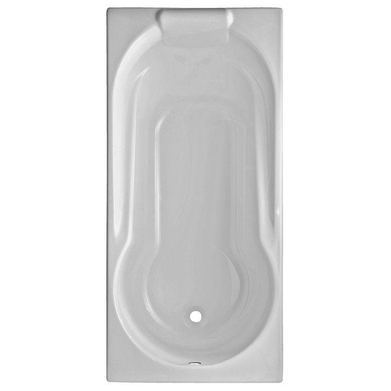 Baignoire droite acryl harmonie salle de bains for Dimension baignoire droite