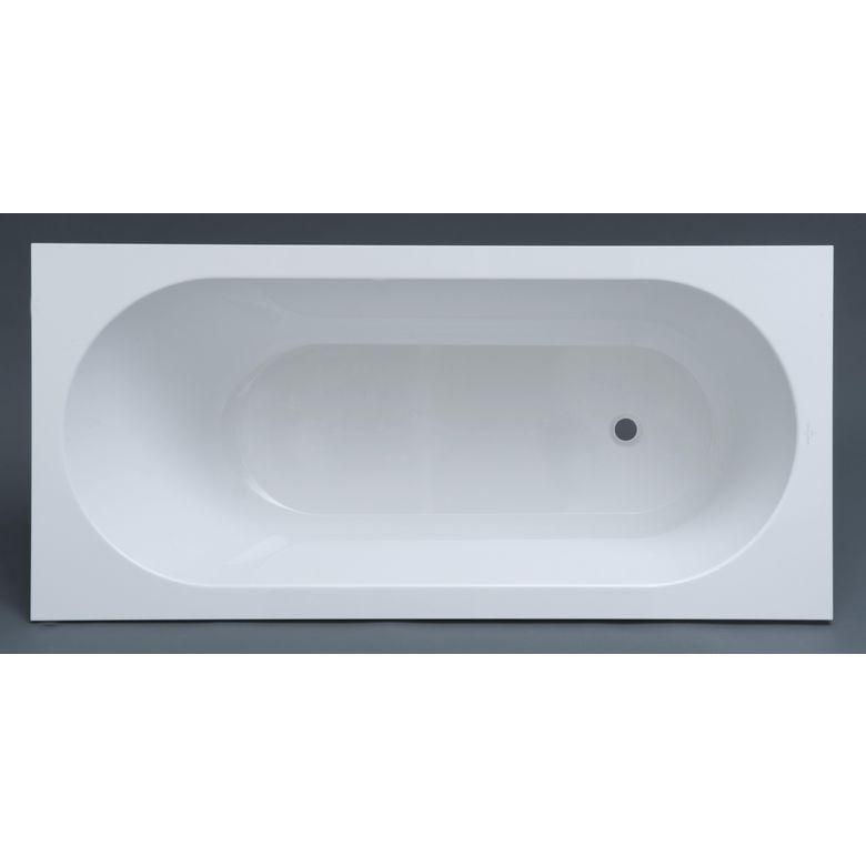 Baignoire droite acryl l a bain for Dimension baignoire droite
