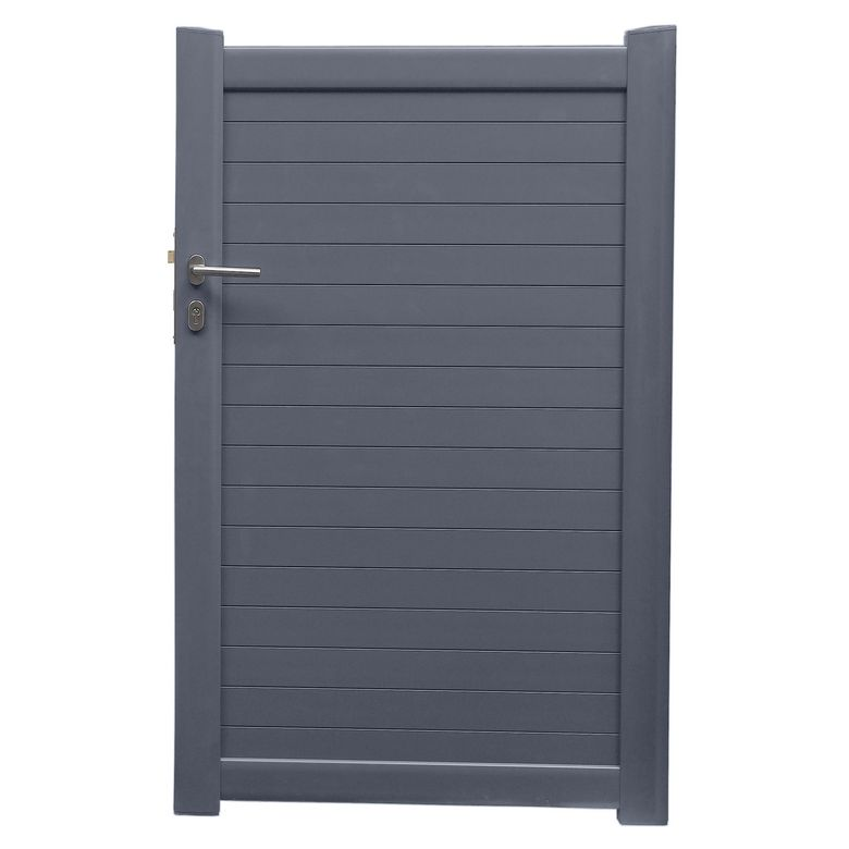 Portillon aluminium toscane ext rieur for Portillon exterieur