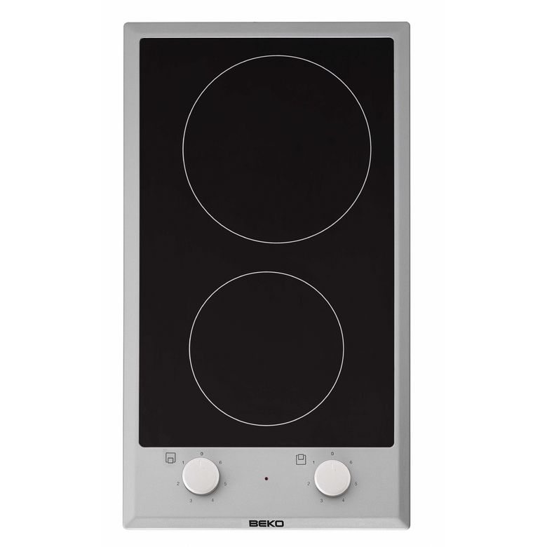 Table de cuisson duo beko vitroc ramique cuisine - Table de cuisson vitroceramique ...