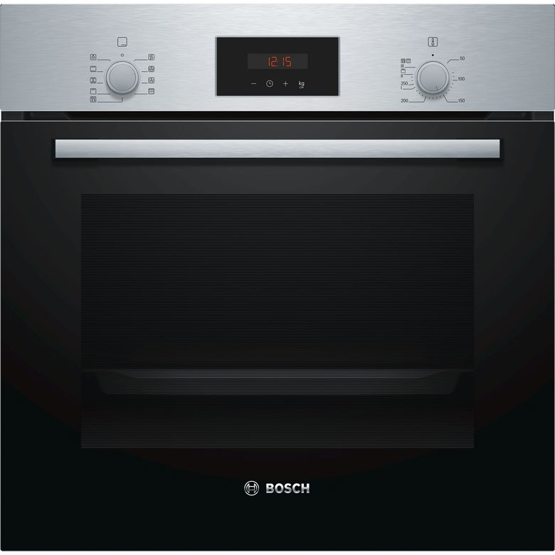 Four multifonction nettoyage pyrolyse inox Bosch HBF173BS0 Lapeyre