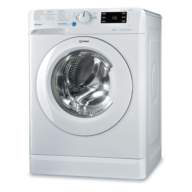 Lave-linge pose libre front blanc Indesit BWE81483XWFR.1