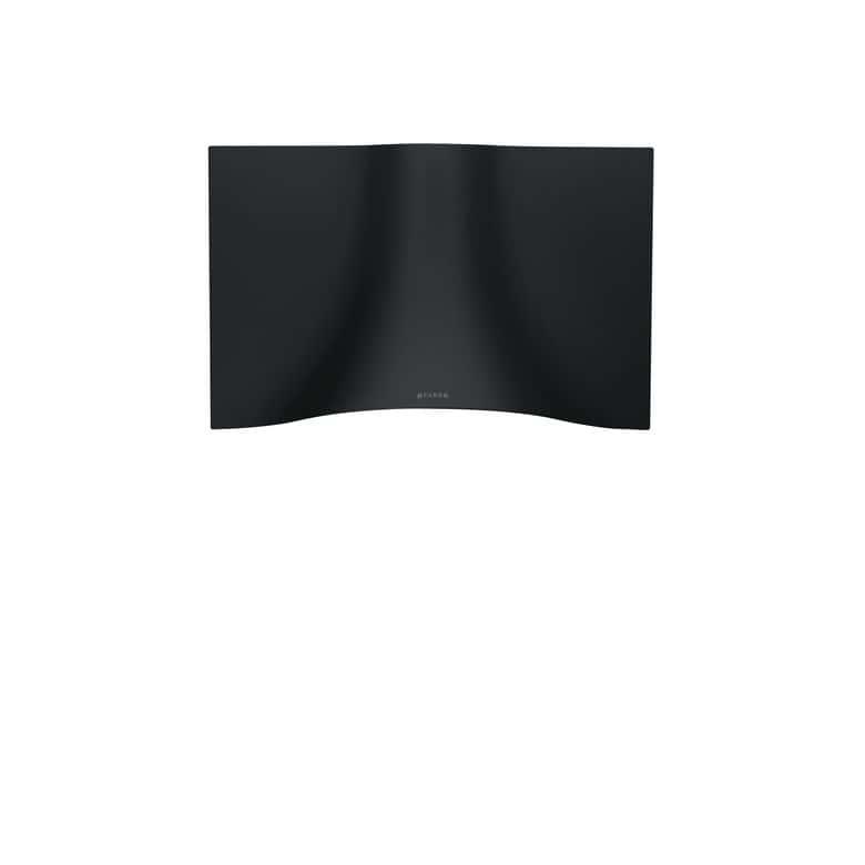 Hotte décor écran noir Faber Veil 5054002 l.90