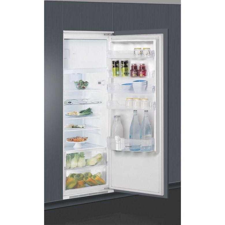 Réfrigérateur congélateur monoporte intégrable Indesit ZSIN1801AA