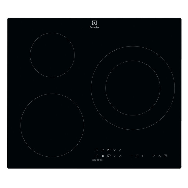 Table induction noir 3 foyers Electrolux CIT60336CK Lapeyre