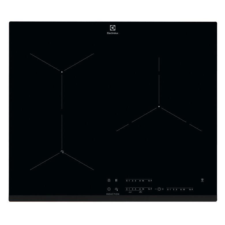 Table induction noir 3 foyers Electrolux EIF61342