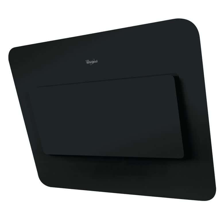 Hotte décor écran noir Whirlpool AKR855/1GBL l.80