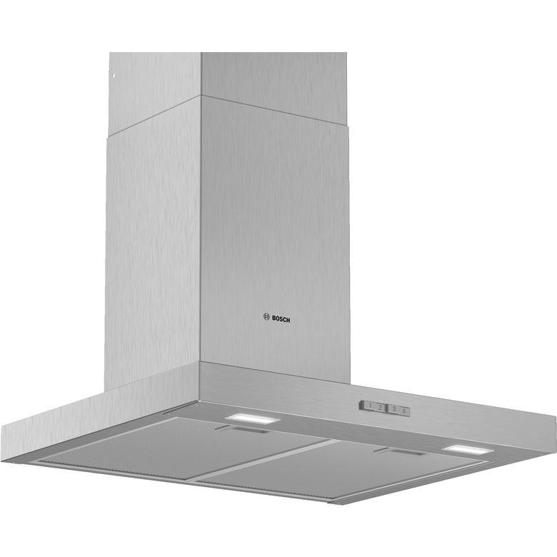 Hotte décor box inox Bosch DWB94BC50 l.90