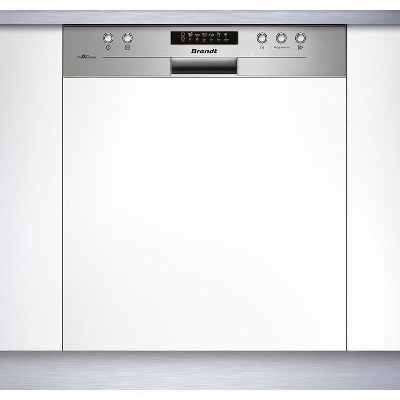 Lave-vaisselle intégrable inox Brandt VH1704X