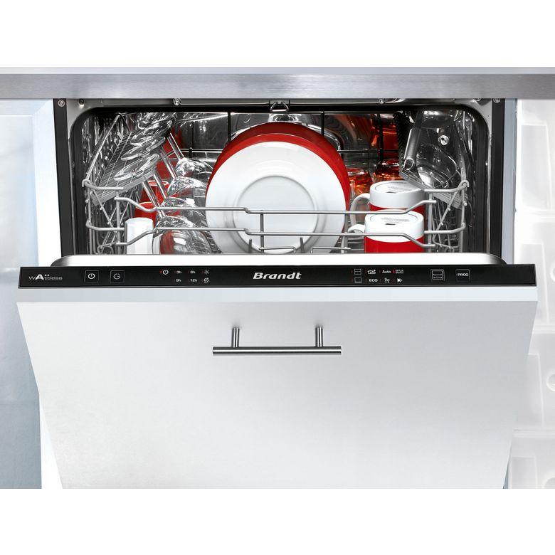 Lave-vaisselle full intégrable Brandt VH1704J