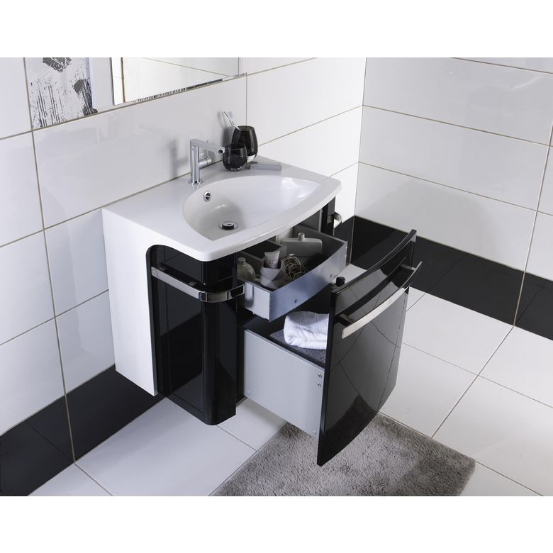 Meuble vasque prune accueil mobilier de jardin bains - Peinture baignoire castorama ...