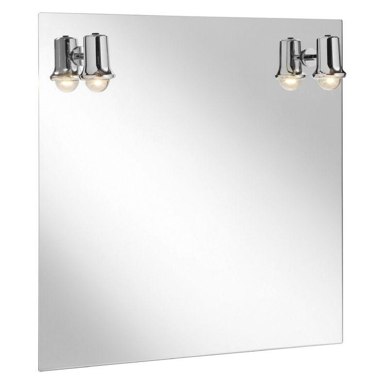 Miroir lumineux th o salle de bains - Lapeyre miroir lumineux ...