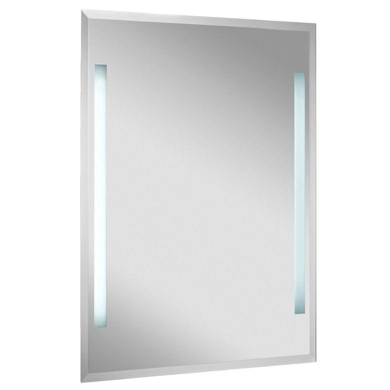 miroir lumineux tube salle de bains