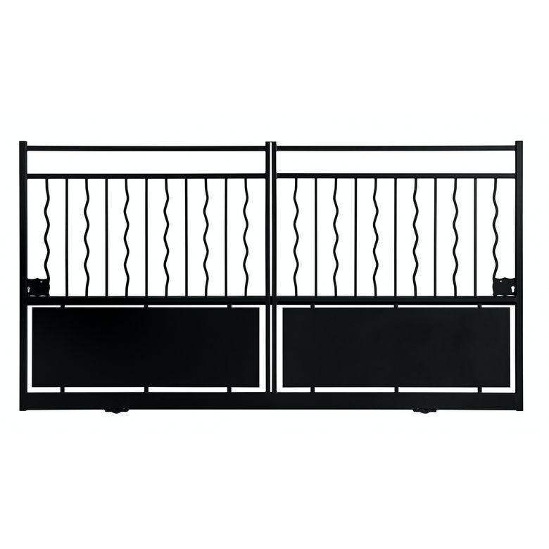 bien choisir un portail coulissant pas cher conseils et prix. Black Bedroom Furniture Sets. Home Design Ideas