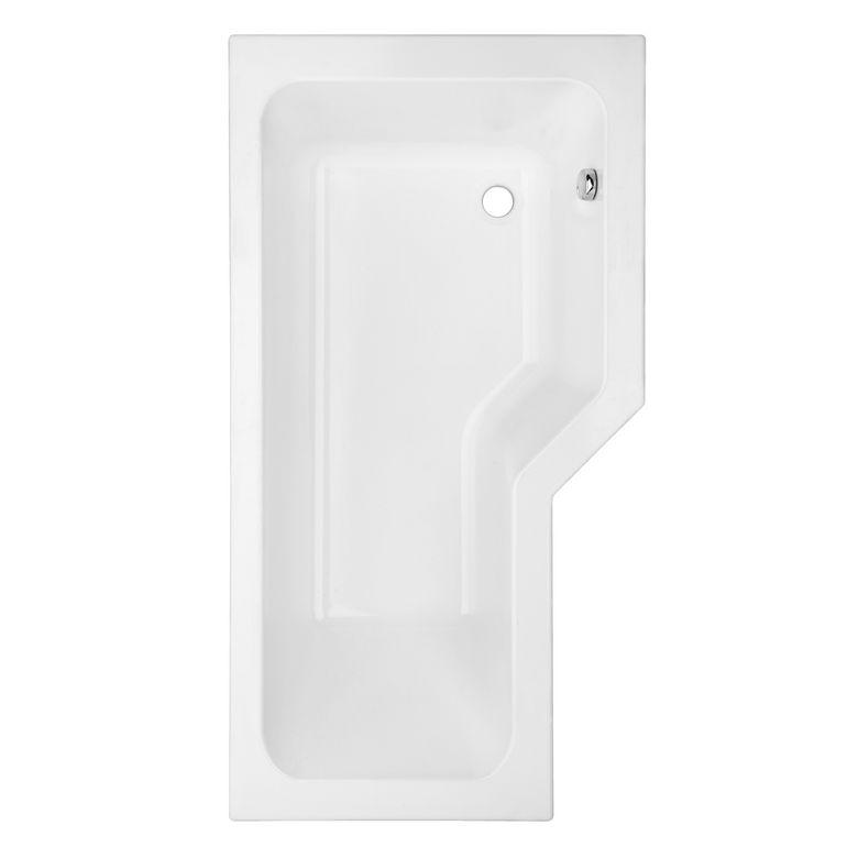 Baignoire droite toplax droite audace salle de bains for Baignoire fond plat
