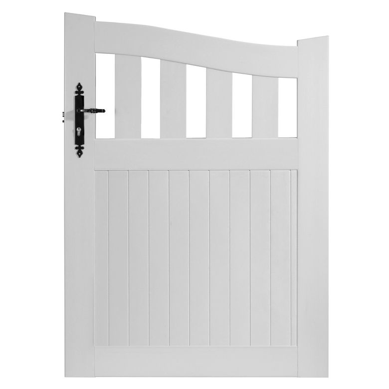 Portillon de jardin lapeyre for Portillon pvc