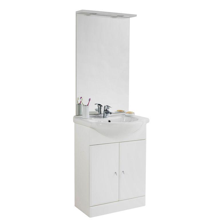 Meuble salle de bain initial lapeyre salle de bains - Lapeyre meuble salle de bains ...