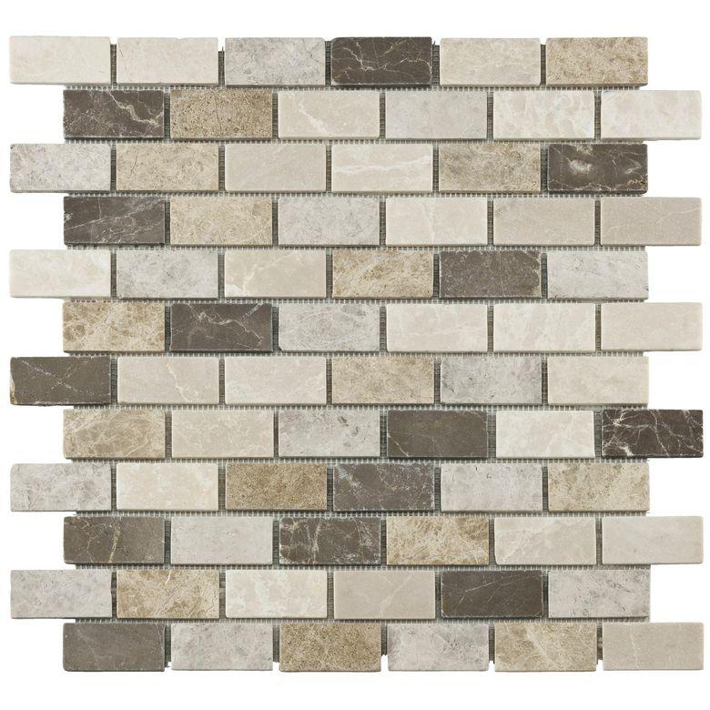 Carrelage mosa que marbre unik 30 5 x 30 5 cm sols murs for Carrelage 30 x 30