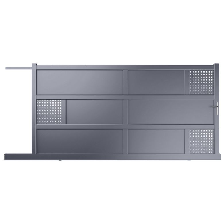 vente portail portail aluminium tritoo maison et jardin. Black Bedroom Furniture Sets. Home Design Ideas