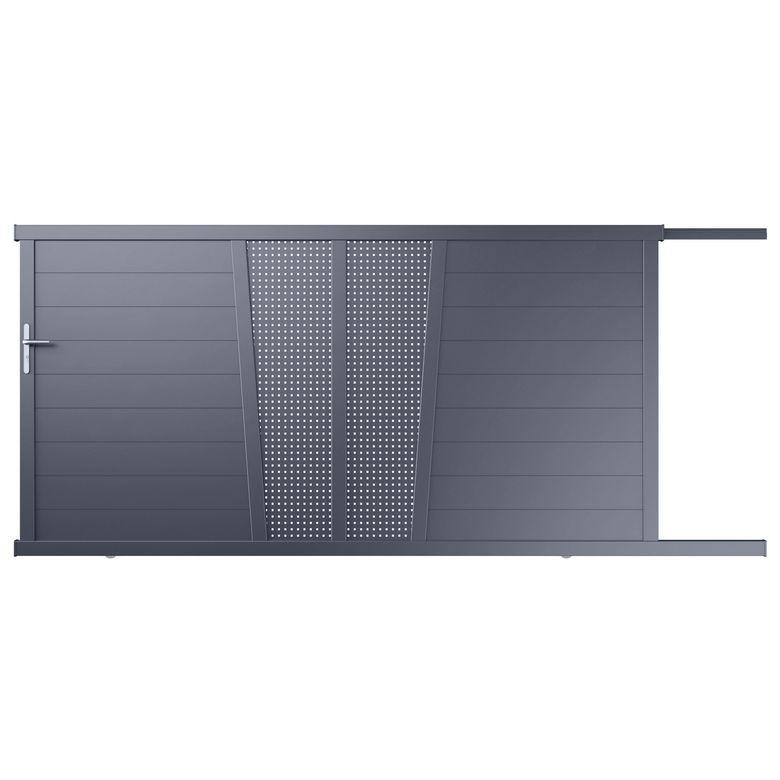 vente portail aluminium tritoo maison et jardin. Black Bedroom Furniture Sets. Home Design Ideas