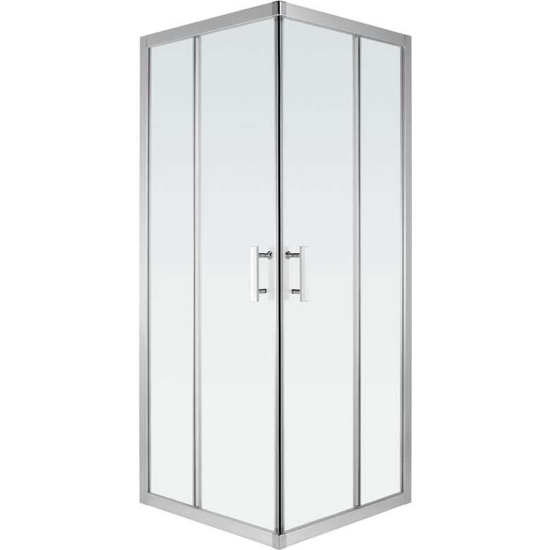 Acc s d 39 angle par portes coulissantes vogue salle de bains - Porte coulissante salle de bain lapeyre ...