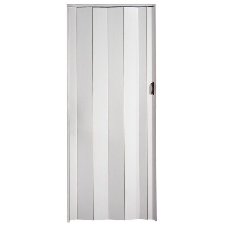 Montage porte extensible pvc for Porte accordeon lapeyre