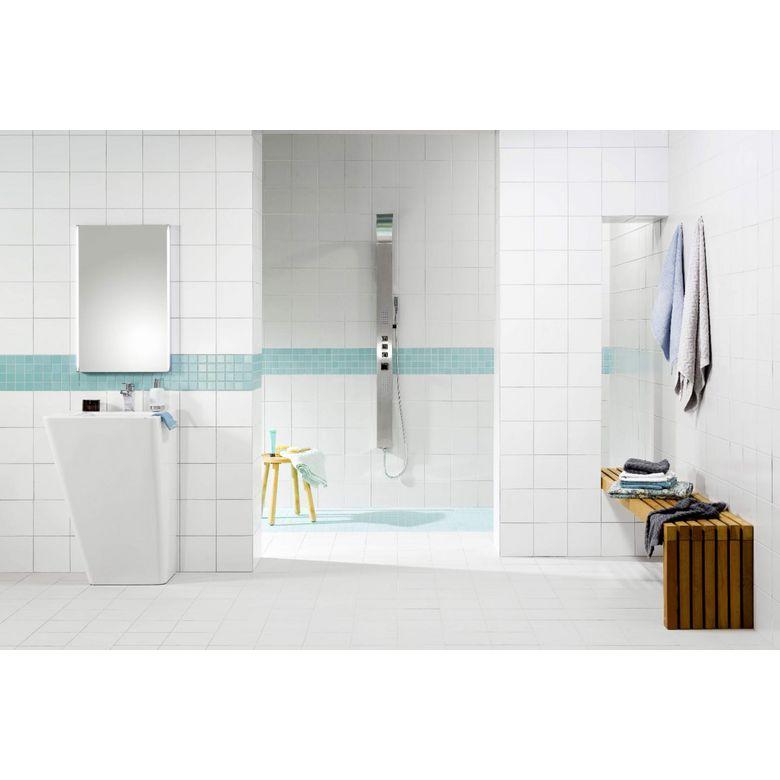 Carrelage easy 20 x 20 cm sols murs for Faience murale salle de bain lapeyre
